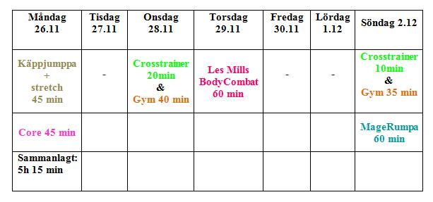 träning v.3